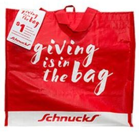 Schnucks Giving Bags to Support CTK in October!