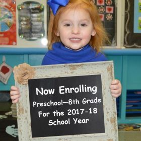 Now Enrolling for the 2017-18 School Year