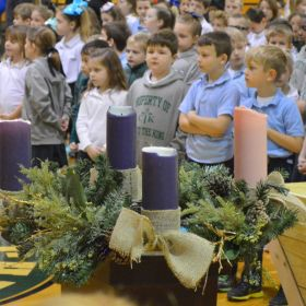 Lighting of our Advent Wreath