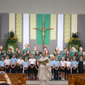 Presentation of 2nd and 8th Grade Sacramental Candidates