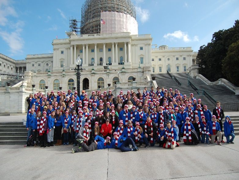 2015 Group Picture at the U.S. Capitol Building