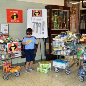 Catholic Charities Super Food Drive Challenge!