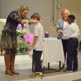 Our 2nd Grade had their First Reconciliation today